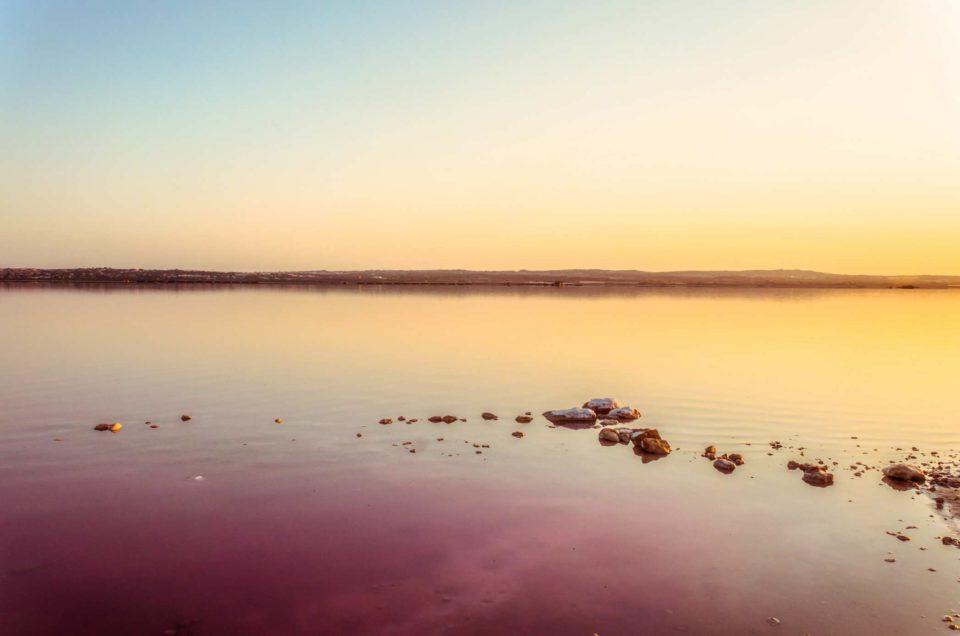 La lagune Rose